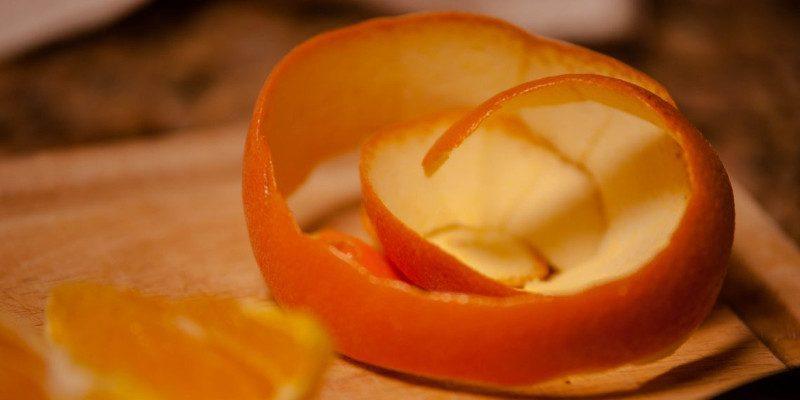 апельсиновые корки в авто