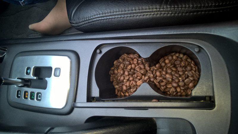 кофе - ароматизатор в авто