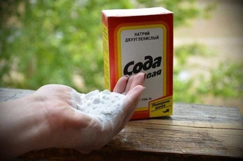 сода для уборки запаха
