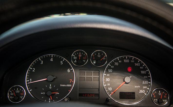 Приборная панель Audi A6 C5
