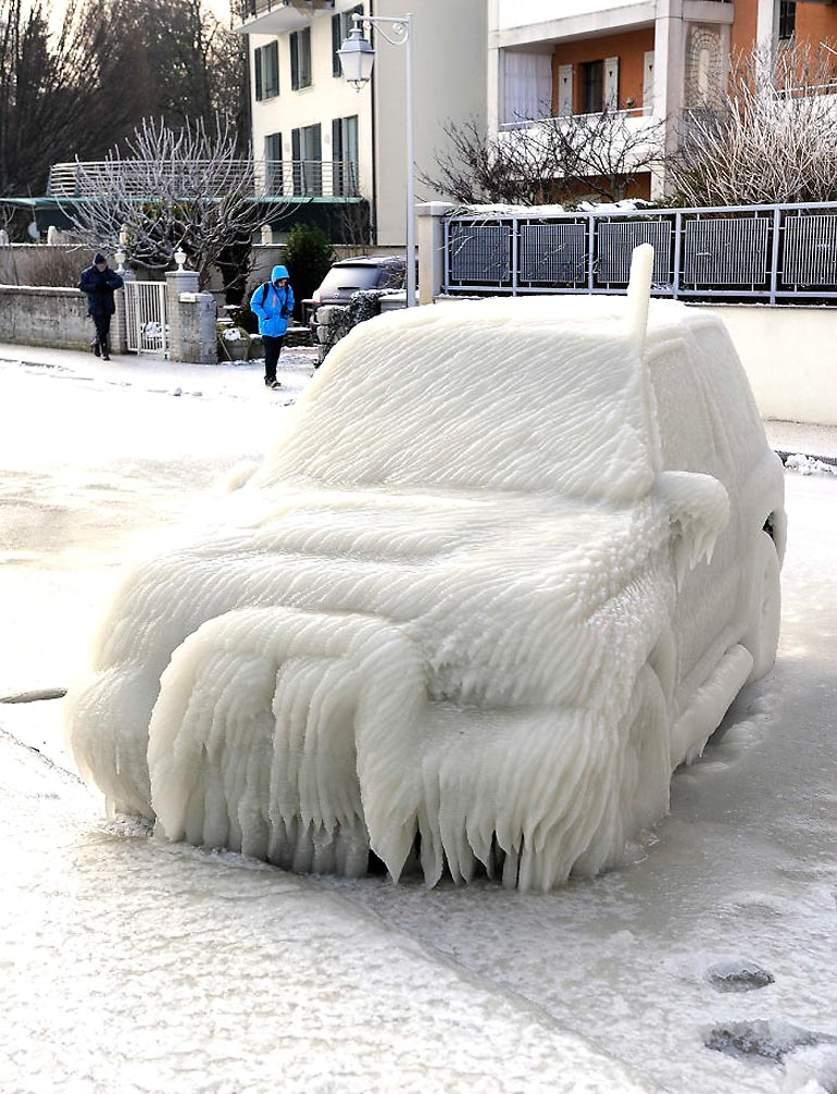 Не паркуйтесь зимой на набережной