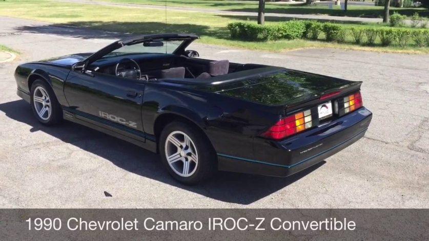 1990 Chevrolet Camaro IROC-Z Convertible