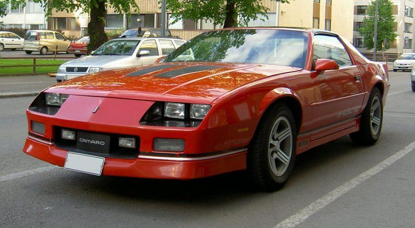 1985 Chevrolet Camaro IROC-Z