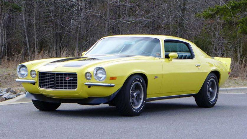 Chevrolet Camaro SS 1970 года