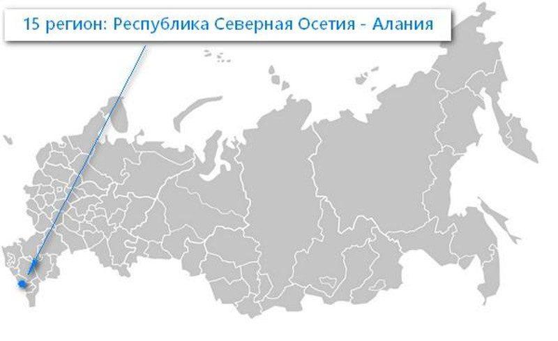 15 и 115 регион на карте