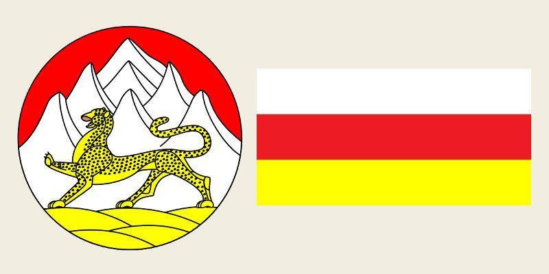 Герб и Флаг 15 и 115 региона