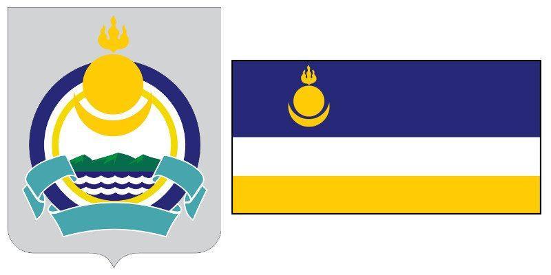 Герб и Флаг 03 и 103 региона