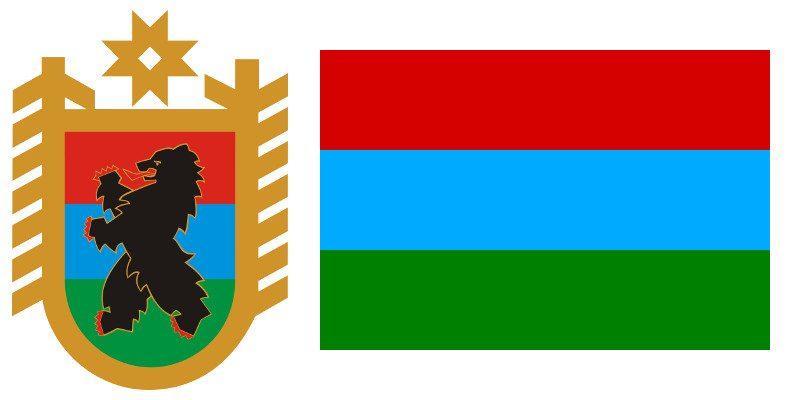 Герб и Флаг 10 региона