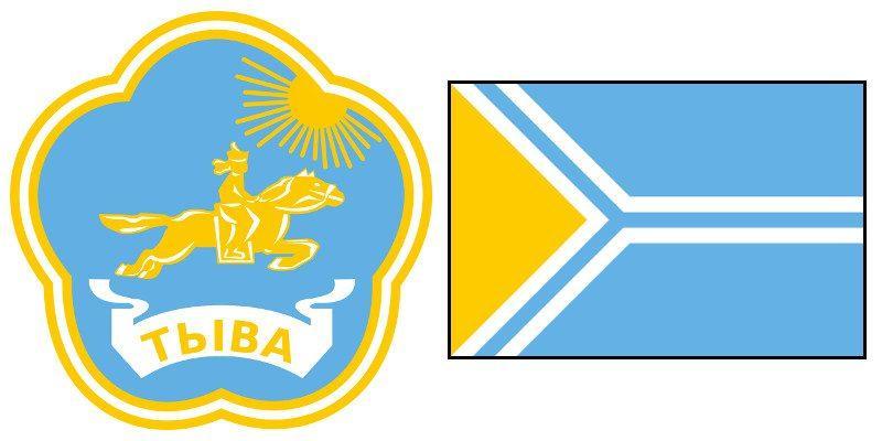 Герб и Флаг 17 региона