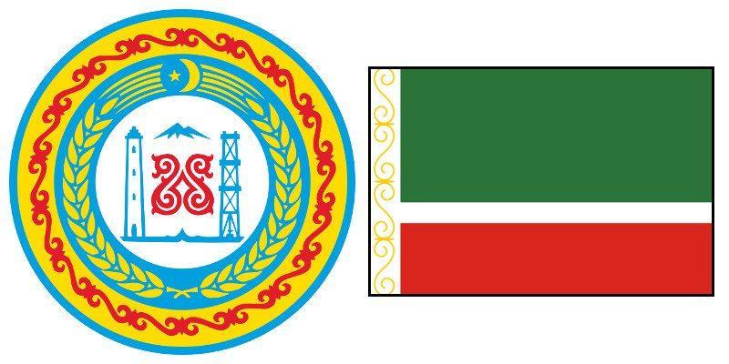 Герб и Флаг 20 и 95 региона