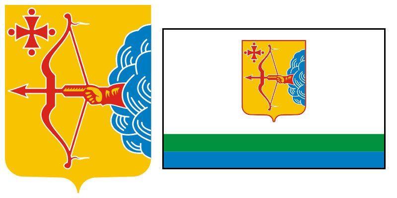 Герб и Флаг 43 региона