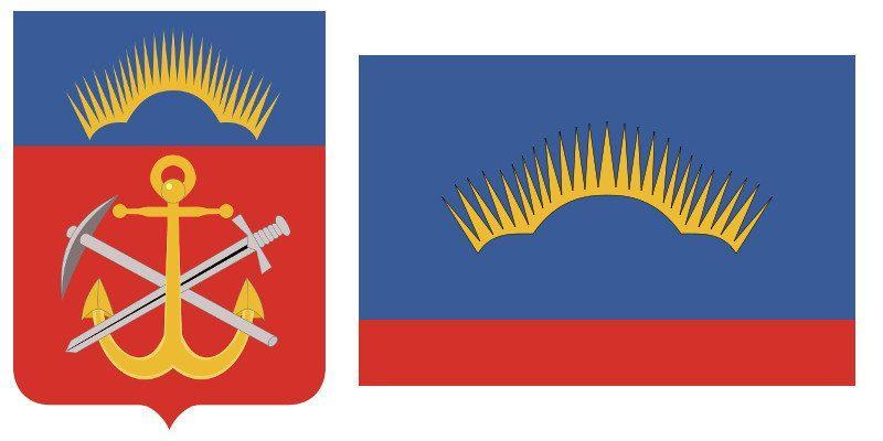 Герб и Флаг 51 региона
