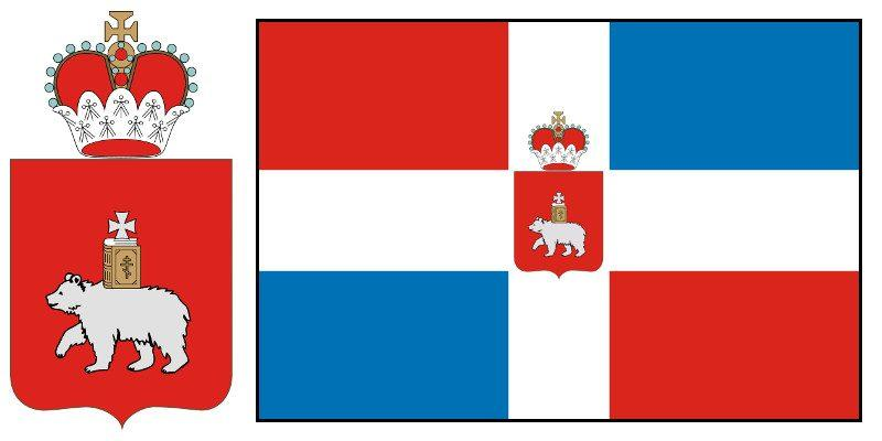 Герб и Флаг Пермского края