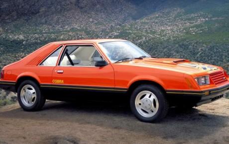 Форд Мустанг 3 поколения