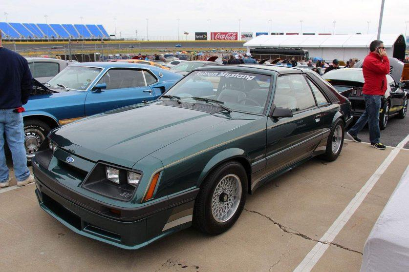 1986 Ford Mustang Saleen Hatchback