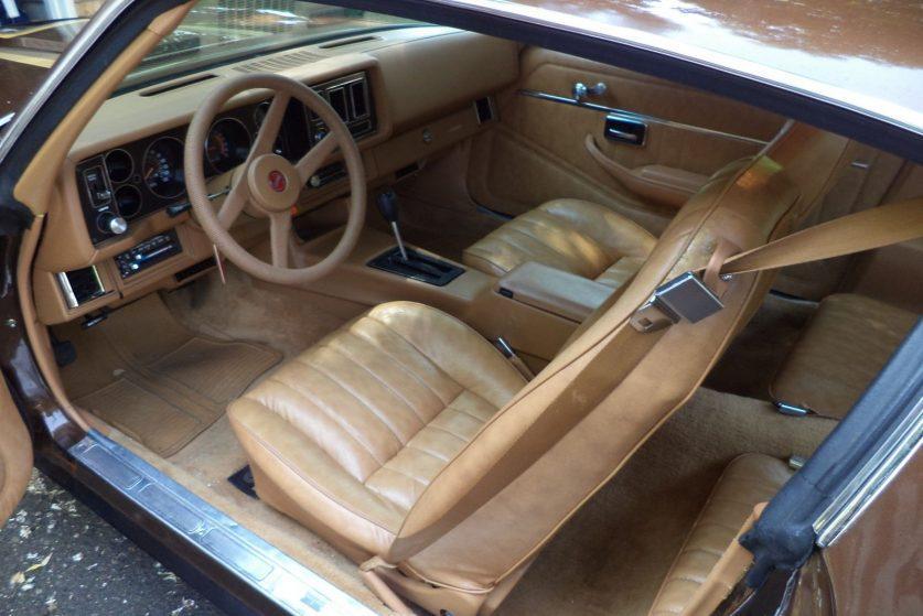 Салон Chevrolet Camaro 1979 Berlinetta