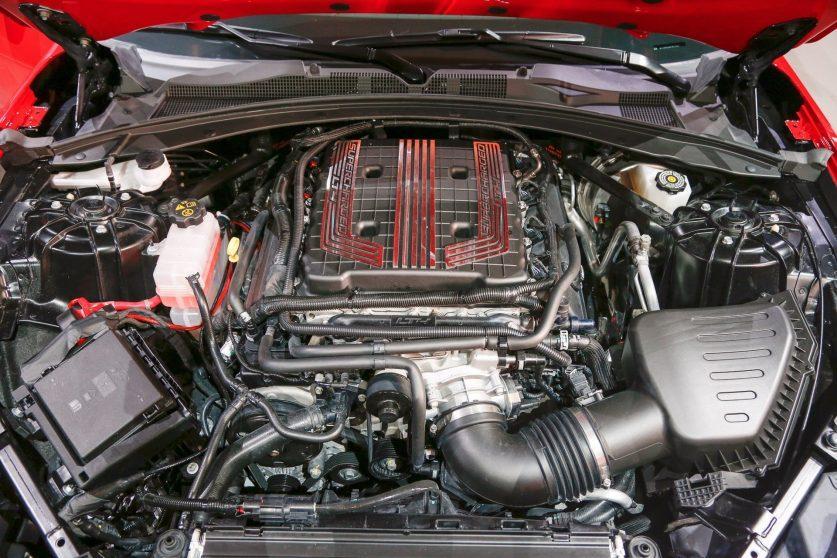 Мотор Chevrolet Camaro ZL1 2017 года