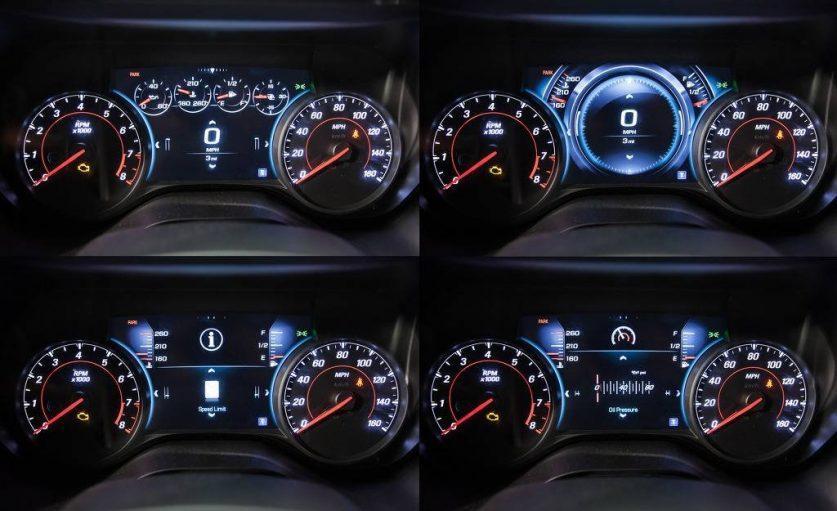 Панель приборов Camaro 2016 года