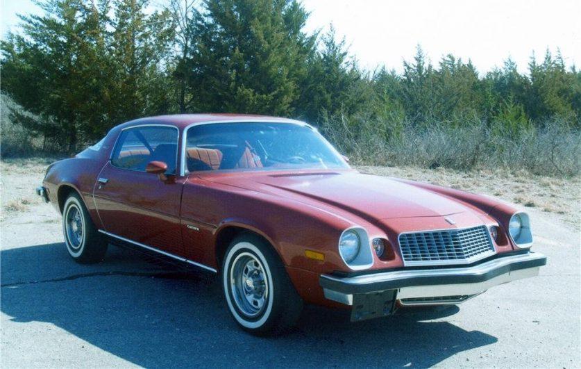 Chevrolet Camaro ZL1 1977 года